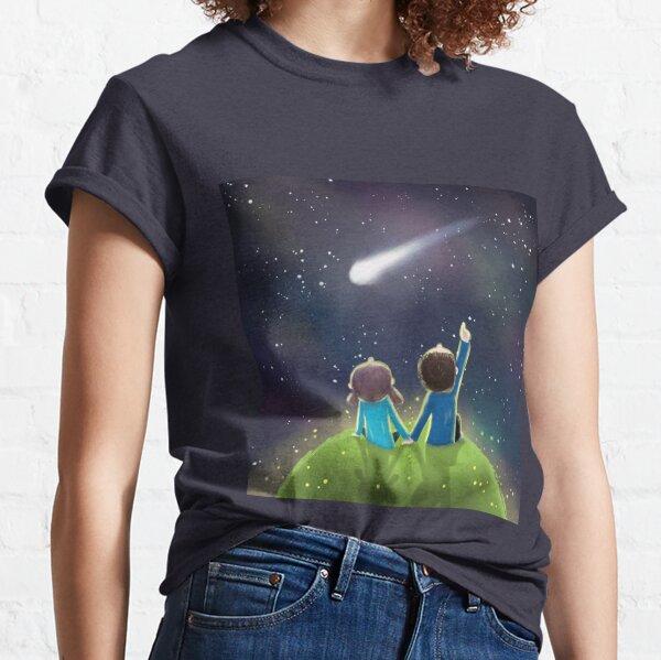 Love under the night sky Classic T-Shirt