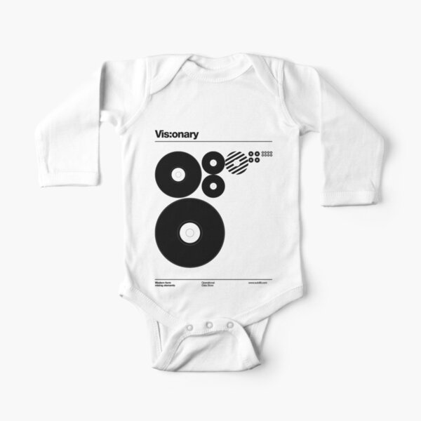 Vis:onary b Long Sleeve Baby One-Piece