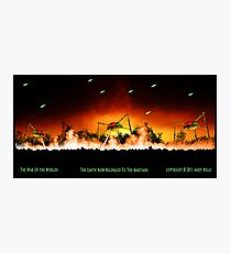 The World Now Belonged To The Martians Photographic Print