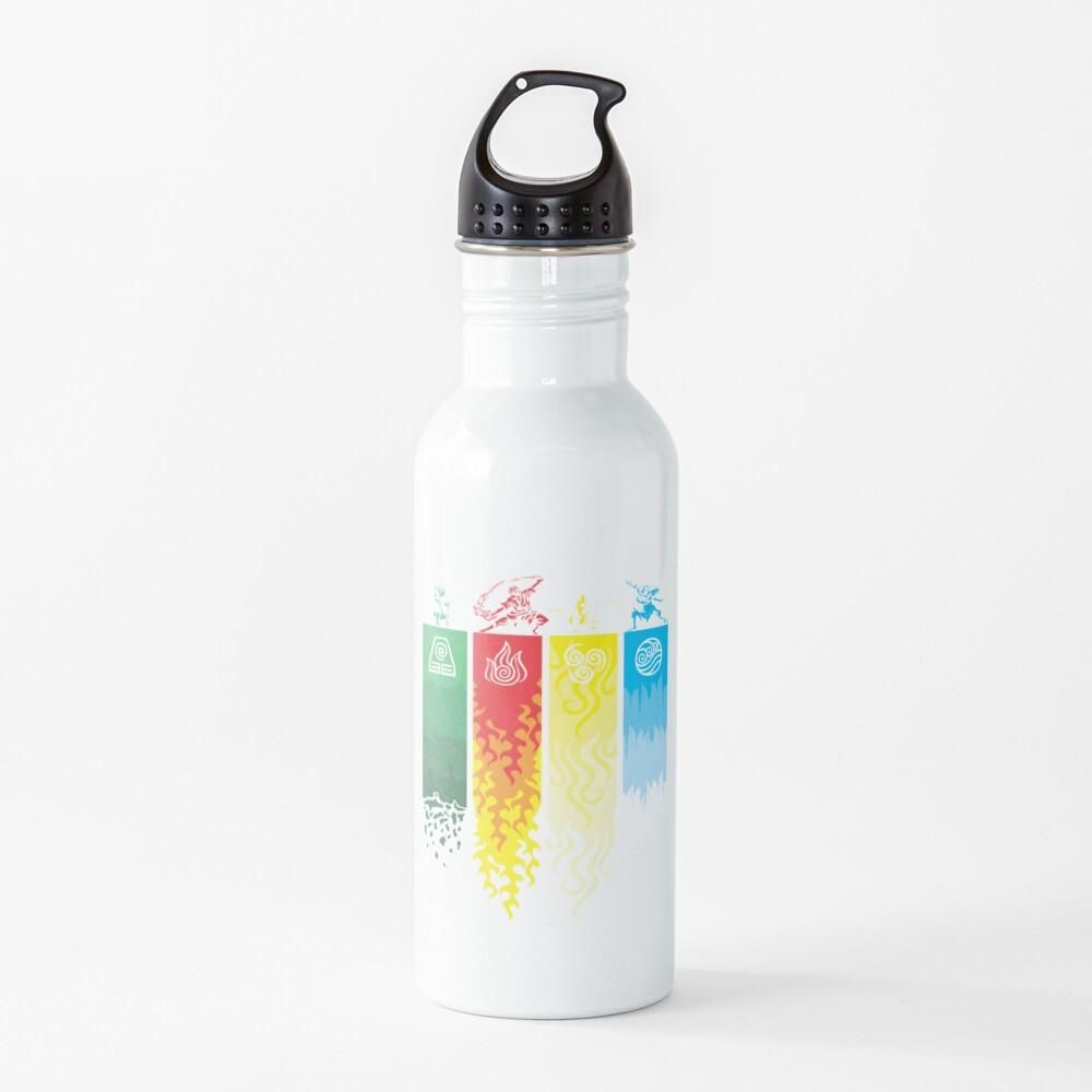 Element Symbols Avatar The Last Airbender Water Bottle