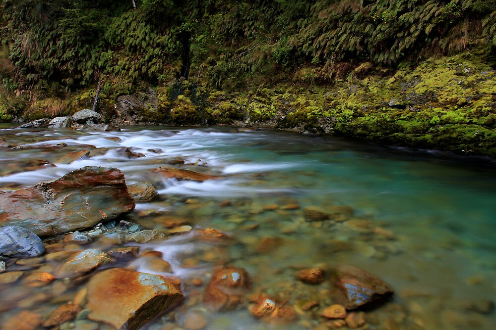 Turquoise flow by Cameron B