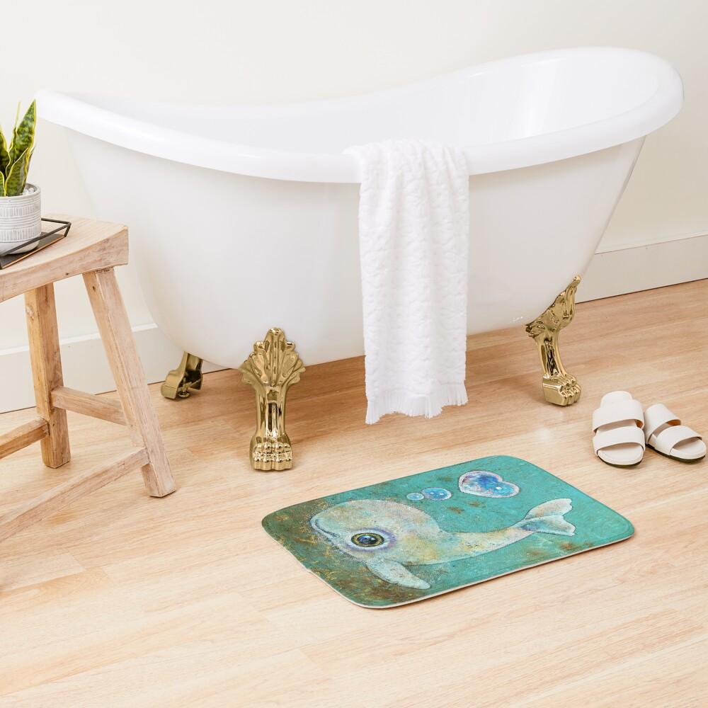 Baby Whale Bath Mat
