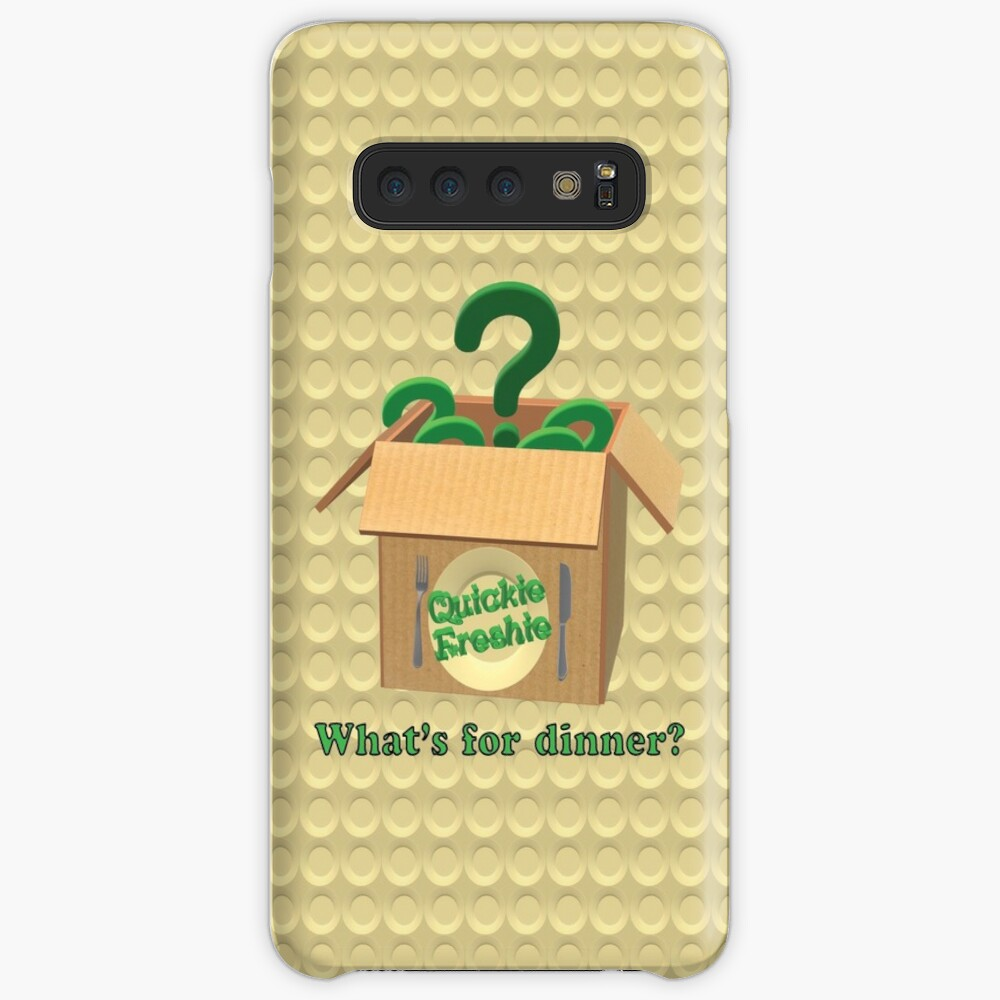 What's for dinner? Cooking in the 21st Century. Case & Skin for Samsung Galaxy