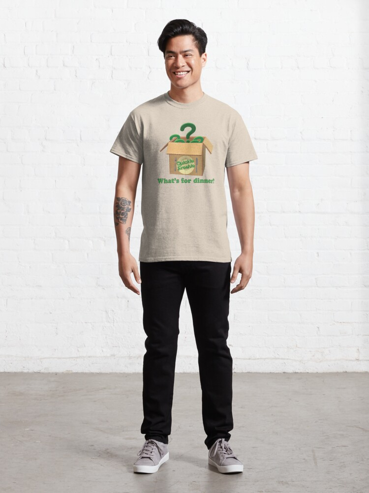 Alternate view of What's for dinner? Cooking in the 21st Century. Classic T-Shirt