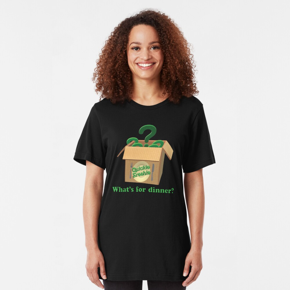 What's for dinner? Cooking in the 21st Century. Slim Fit T-Shirt