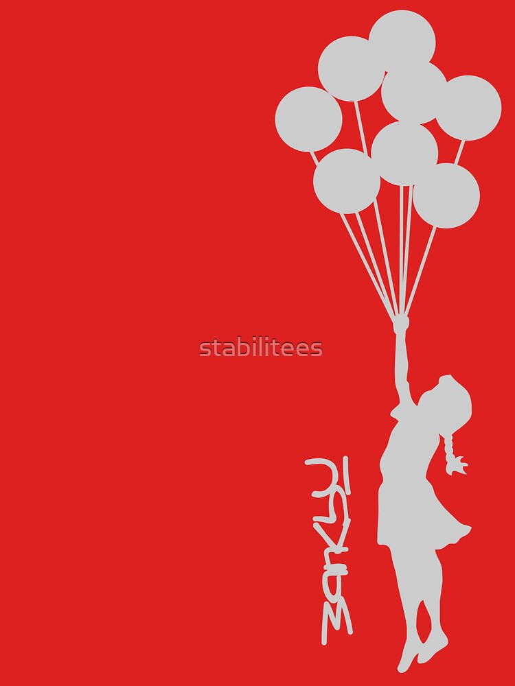 Banksy - Little girl with balloons | Women's T-Shirt