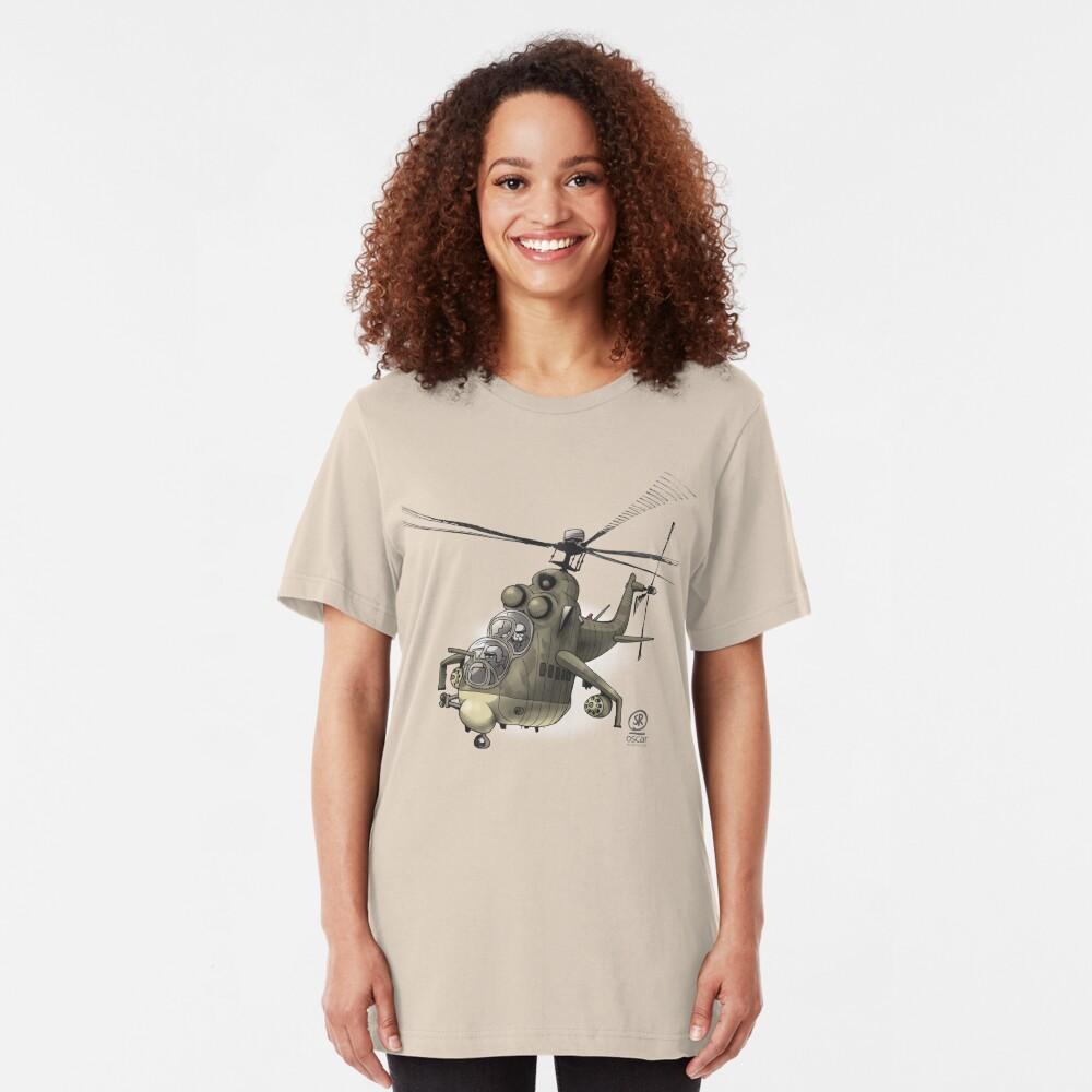 Mil MI24 Hind Slim Fit T-Shirt