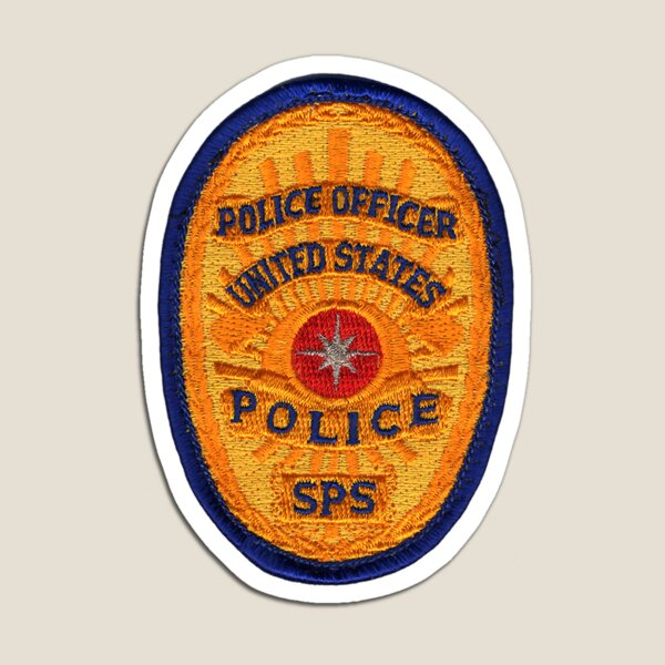 CIA SECURITY POLICE OFFICER Magnet