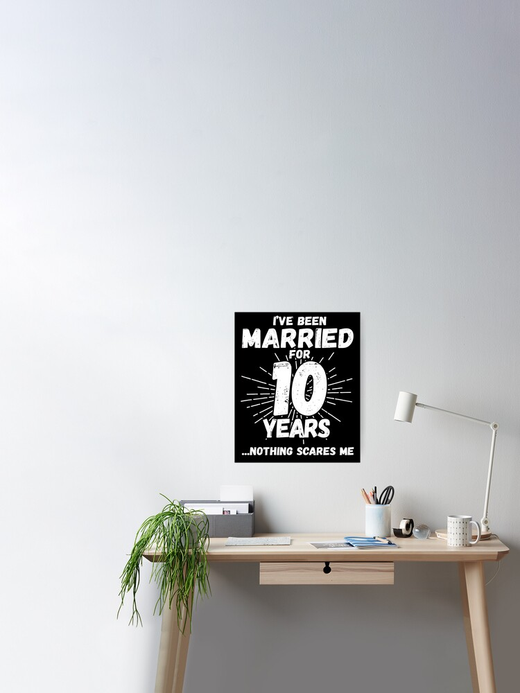 Funny Personalized Gag Gift 10Year Wedding Gift For Wife 10th Anniversary Gift