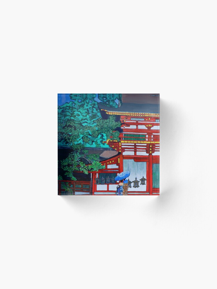 Alternate view of Kasuga Shrine, Nara Acrylic Block