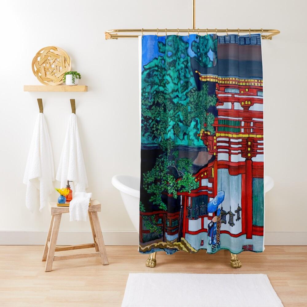 Kasuga Shrine, Nara Shower Curtain