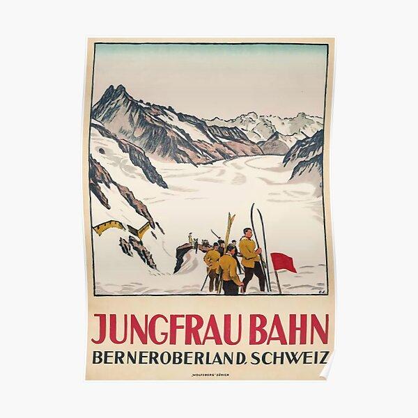Jungfrau Bahn Poster