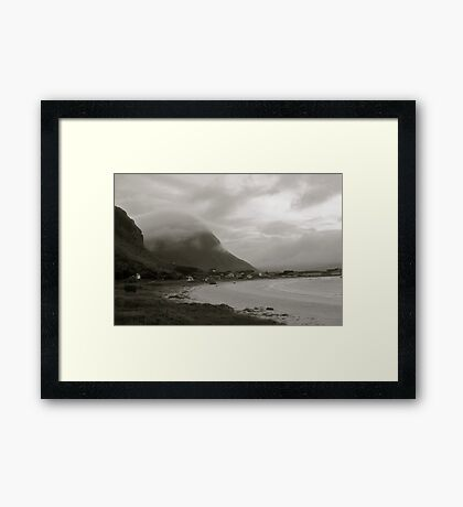 5 ★★★★★. Ramberg - Beach  . Lofoten. . NORWAY . Holidays 28 august 2011. by Brown Sugar. Views (211) favorited by (2) thank you very much friends ! Framed Print