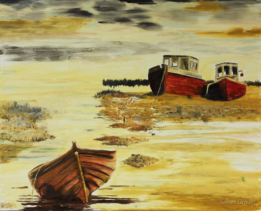 Heswall Shore by Susan Brown