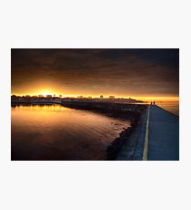 Sunset Point Photographic Print