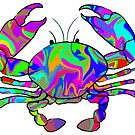Colorful Crab by ChrisButler