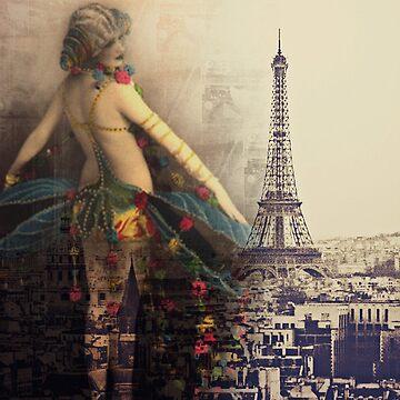 Burlesque Dreams by CalicoCollage
