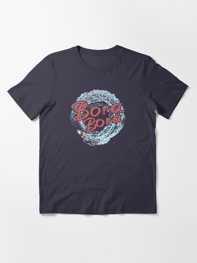 Alternate view of Bora Bora Boating French Polynesian Sportfishing Essential T-Shirt