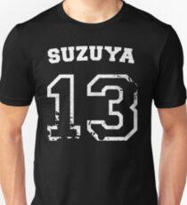 Camiseta unisex Salpicadura colegial Juuzou Suzuya