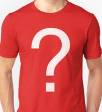 Question Mark Slim Fit T-Shirt