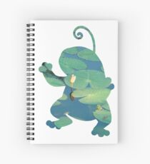 Politoed used mud shot Spiral Notebook