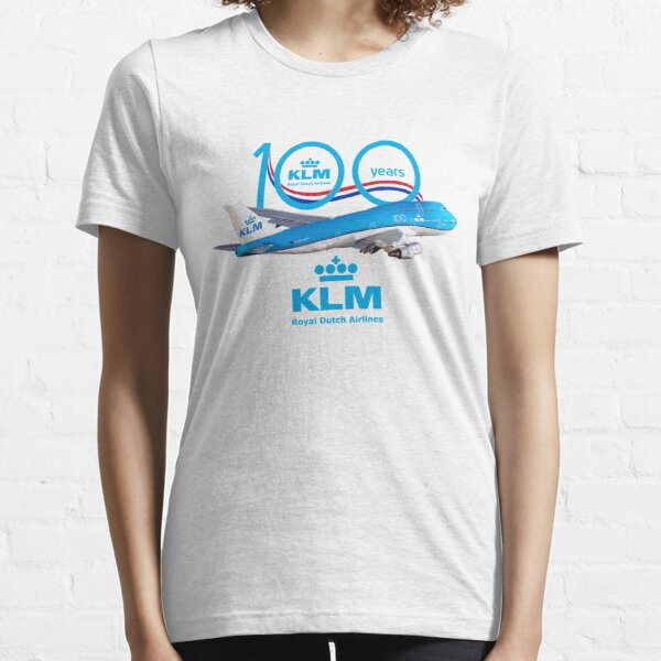 100 years Boeing 747 KLM royal dutch airlines Essential T-Shirt