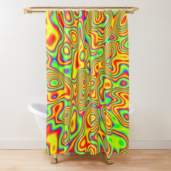 Want colors? Shower Curtain
