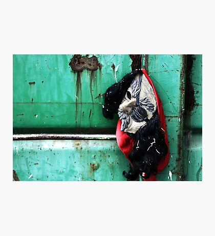 The Hanging Mask Photographic Print
