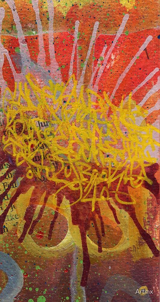 Sunflower Splash by Artmx