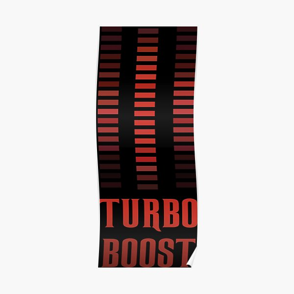 Turbo Boost Poster