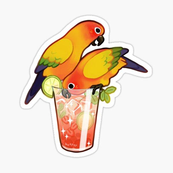 Sun cocktail Sticker