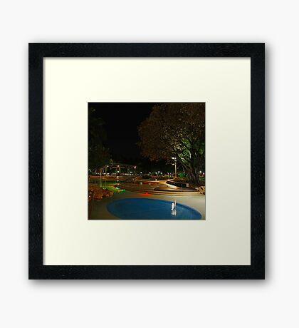 Reflections at Southbank Framed Print