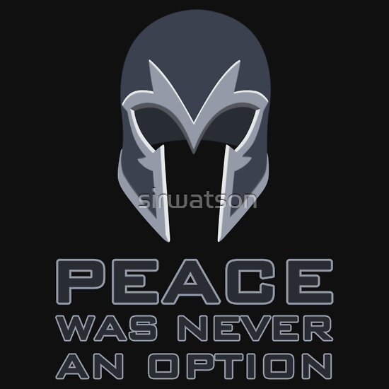 TShirtGifter presents: Peace Was Never An Option