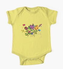 bugs in the meadow One Piece - Short Sleeve