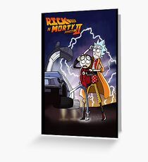 Rick n' Morty: To The Future Greeting Card