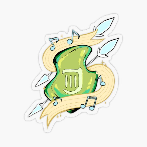 BRD Job Stone Sticker transparent