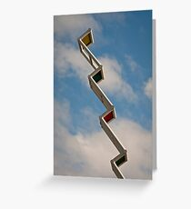 Sky Ladder Greeting Card
