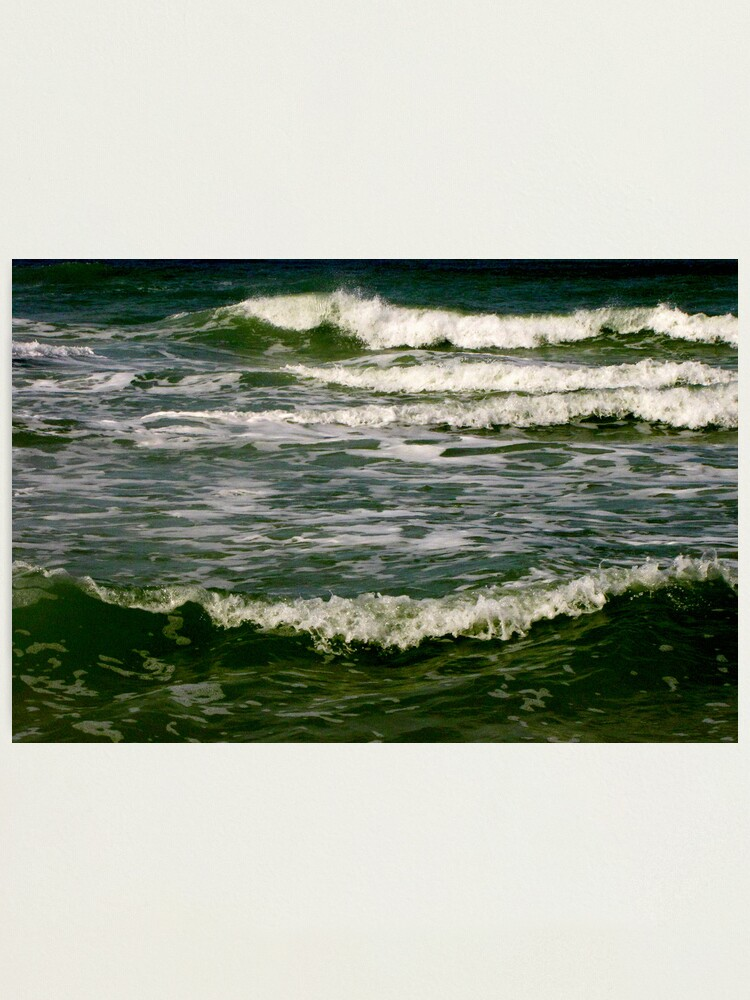 Alternate view of Waves #5 Photographic Print