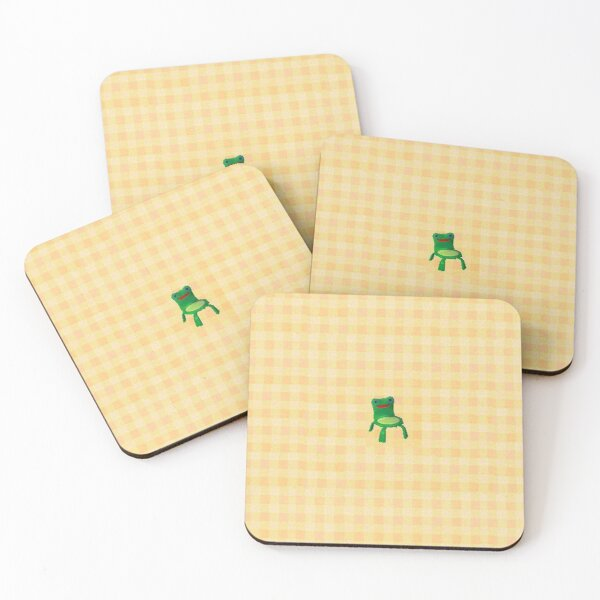 froggy chair Coasters (Set of 4)