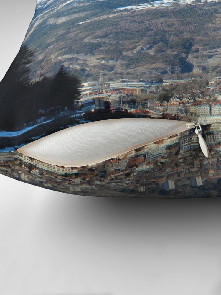 Alternative Ansicht von  Chur, Calanda, Araschgerrank, Hunderunde Dekokissen