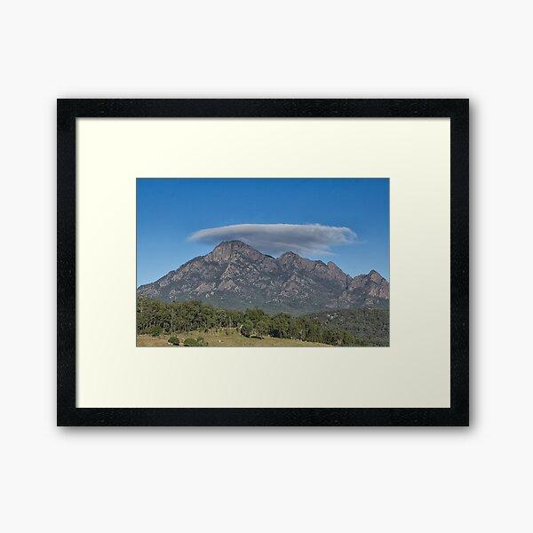 Mt Barney Southeast Queensland  Framed Art Print