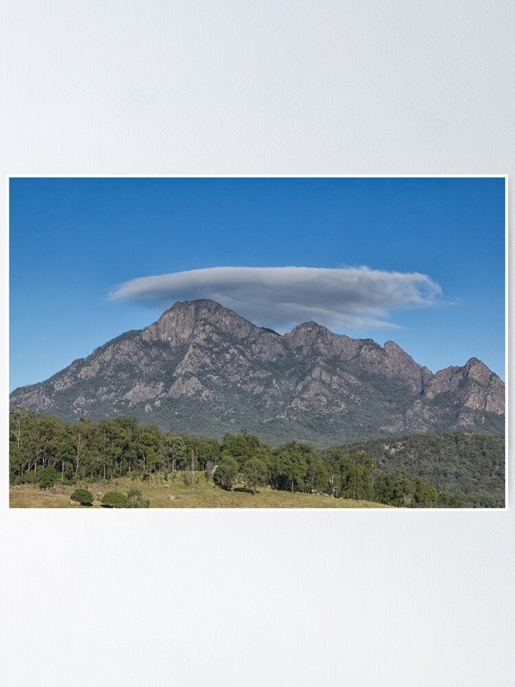 Alternate view of Mt Barney Southeast Queensland  Poster