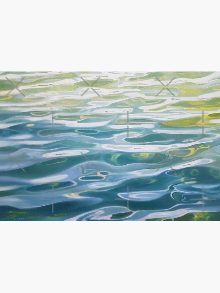 Shoreline - water painting by EmilyBickell