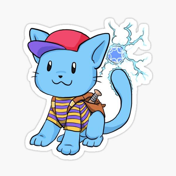 PK Meow Sticker