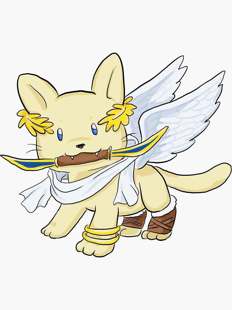 Kitten Icarus by deniseyu