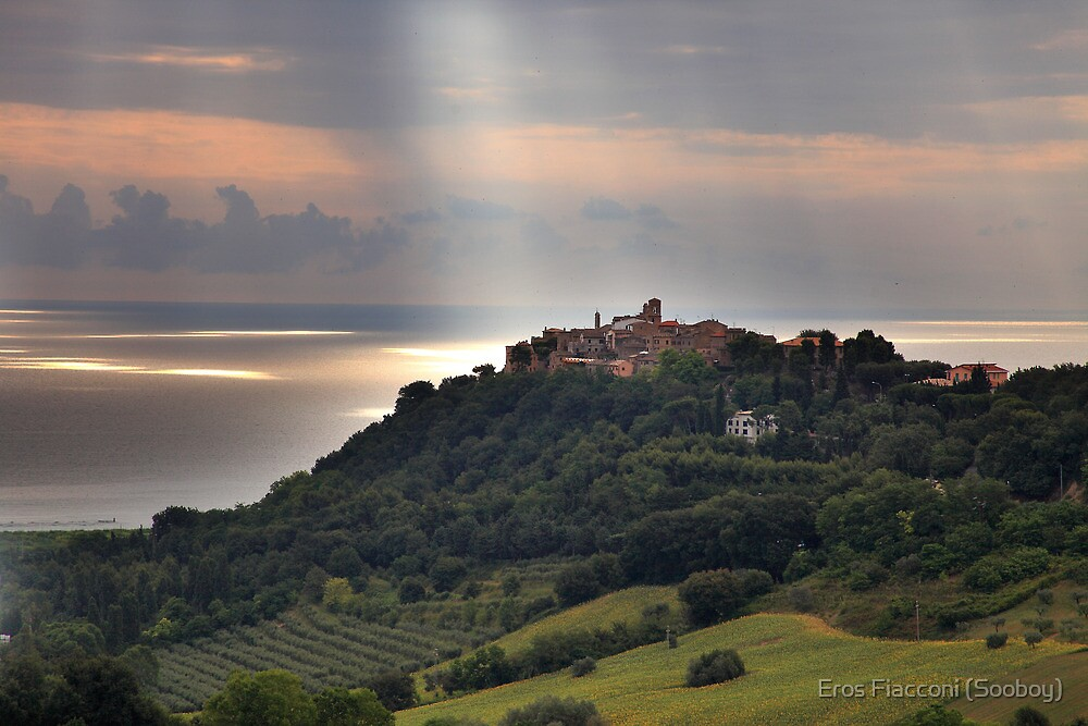 Torre di Palme Italy beautiful light by Eros Fiacconi (Sooboy)