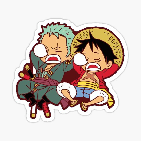 Mugiwara no / Roronoa zoro sleep Sticker