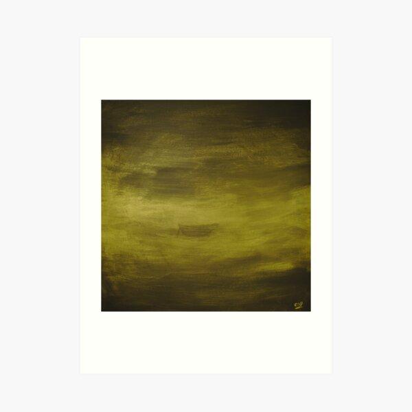 Lac doré Impression artistique