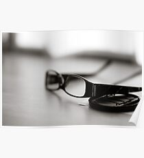 Glases in view Poster