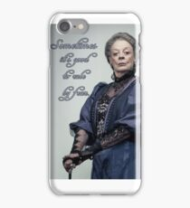 Lady Violet Quotes iPhone Case/Skin